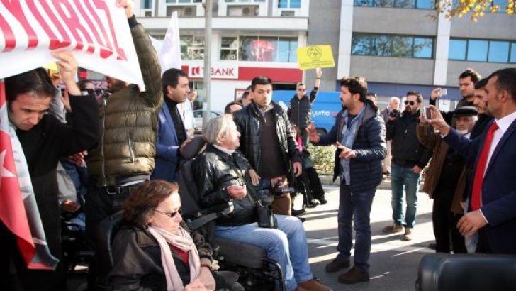 İroni: Engellilere Polis Engeli!