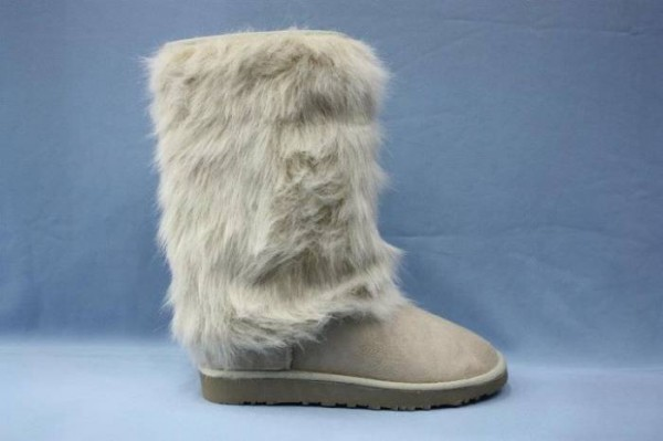 2016 yılı tüylü çizme modelleri
