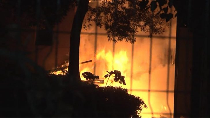 Fransız Kültür Merkezi'nde Yangın