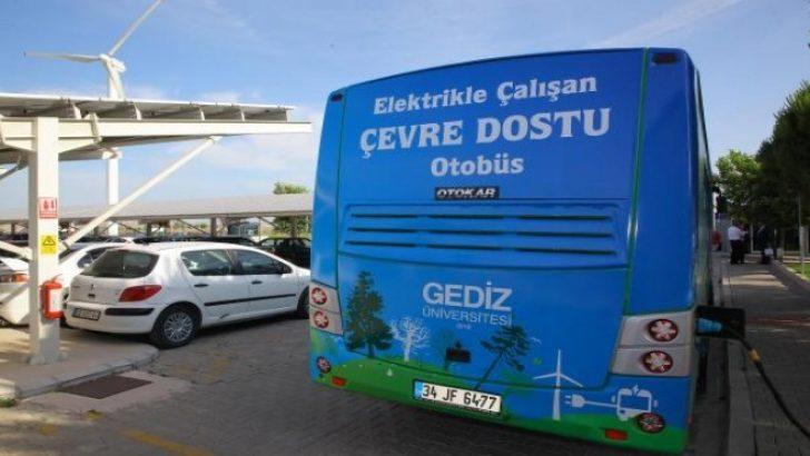 Doğa dostu ilk yerli elektrikli otobüs İzmir sokaklarında