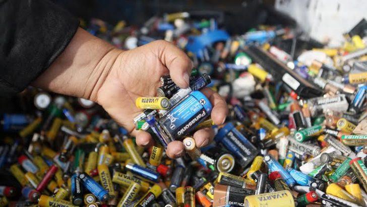 Bornova Belediyesi'nden atık pil toplama rekoru