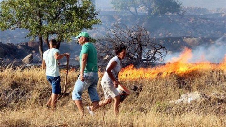 Turizm cennetinde yangın kabusu sona erdi
