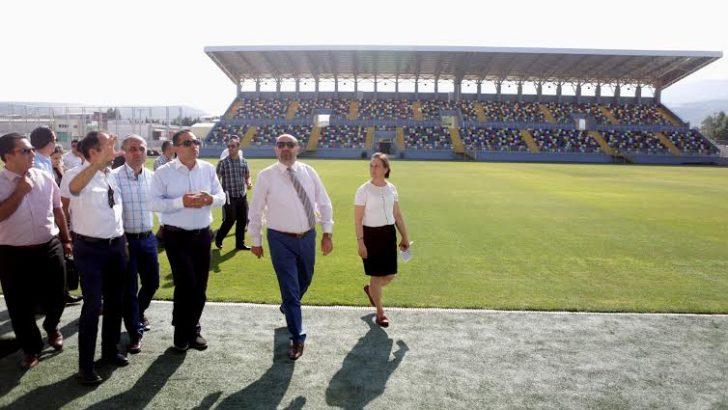 Bornova'nın Yeni Stadı'nda 2. etap da tamamlandı