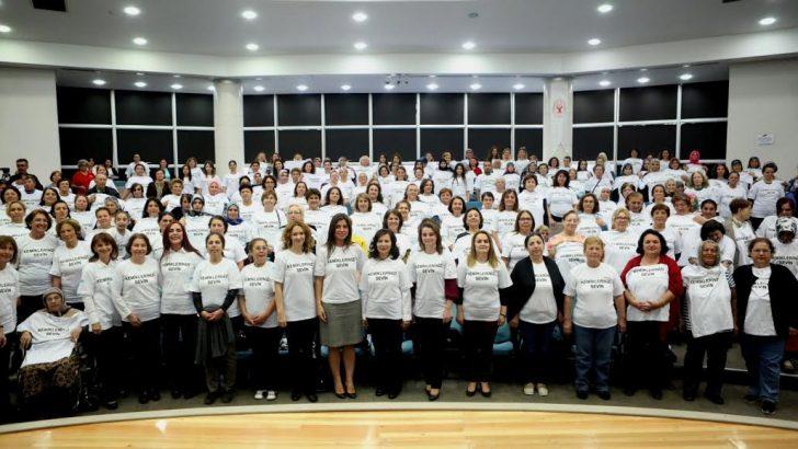 6 profesör, 400 kadın birlikte egzersiz yaptı