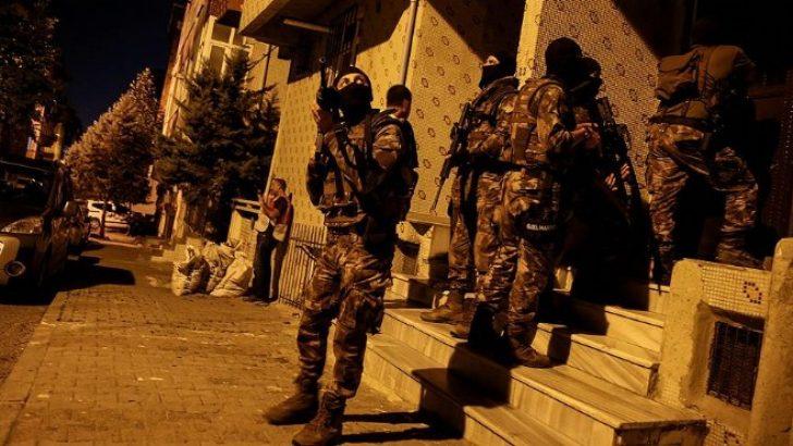 İzmir dahil 4 ilde dev uyuşturucu operasyonu!