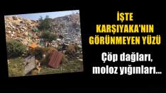 Çöp dağları, moloz yığınları… İşte Karşıyaka'nın görünmeyen yüzü…