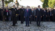 'ULU ÖNDERİMİZ ATATÜRK' FOÇA'DA ANILIYOR