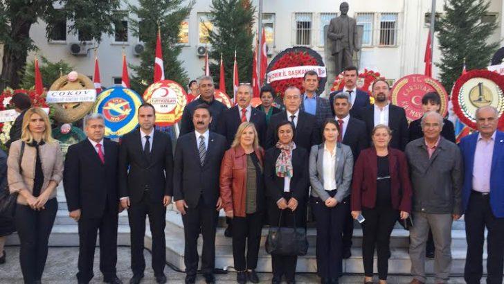 CHP İZMİR'DEN 10 KASIM'DA İKİ AYRI ANMA