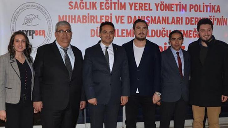 """"""" MESLEKİ DAYANIŞMA İÇİN BİR ARAYA GELDİK"""""""