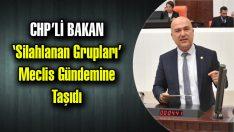 'SİLAHLANAN GRUPLAR' MECLİS GÜNDEMİNDE