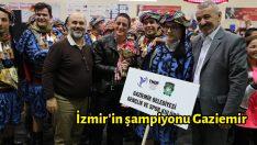 İzmir'in şampiyonu Gaziemir
