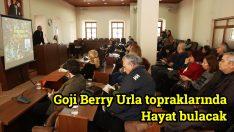 GOJİ BERRY URLA TOPRAKLARINDA HAYAT BULACAK