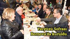 Yeryüzü Sofrası Bornova'da kuruldu