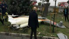 Üst düzey yöneticileri taşıyan helikopter düştü