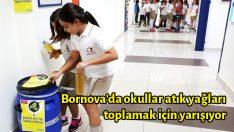 Bornova'da okullar atık yağları toplamak için yarışıyor