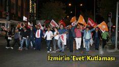 İzmir'in 'Evet' Kutlaması
