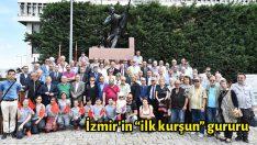"""İzmir'in """"ilk kurşun"""" gururu"""