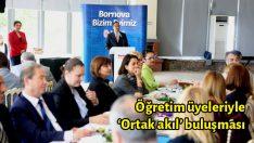 Öğretim üyeleriyle 'Ortak akıl' buluşması