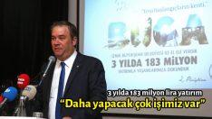 3 yılda 183 milyon lira yatırım