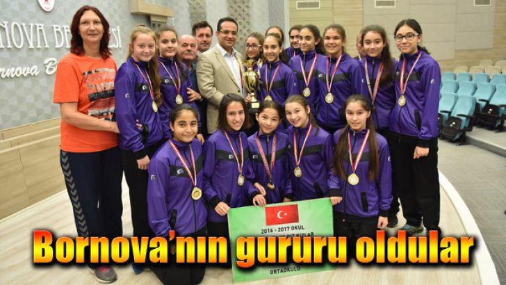 Bornova'nın gururu oldular