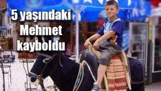 5 yaşındaki Mehmet kayboldu