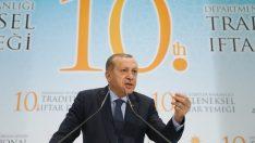 """Cumhurbaşkanı Erdoğan: """"DEAŞ'ı Cerablus'tan, Rai'den, Dabık'tan, El Bab'tan çıkardık"""""""