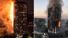 Londra'da 24 katlı binada yangın; 50 kişi yaralandı, can kaybı var!