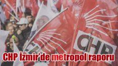 CHP İzmir'de metropol raporu