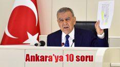Ankara'ya 10 soru