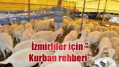 """İzmirliler için """"Kurban rehberi"""""""