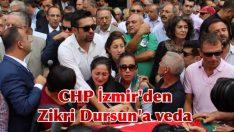 CHP İzmir'den Zikri Dursun'a veda