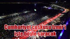 Cumhuriyet coşkusu İzmir'i işte böyle saracak
