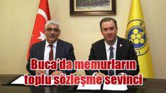Türkiye'nin en iyi toplu sözleşmesi Buca'da imzalandı