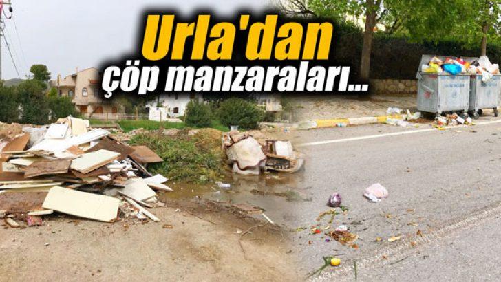 Urla'dan çöp manzaraları…