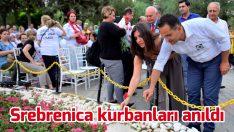 Srebrenica kurbanları Bornova'da anıldı