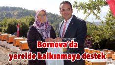 Bornova'da yerelde kalkınmaya destek