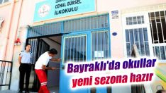 Bayraklı'da okullar yeni sezona hazır
