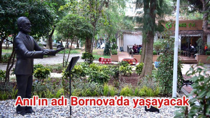 Anıl'ın adı Bornova'da yaşayacak