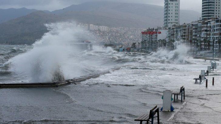 İzmir'e hortum uyarısı