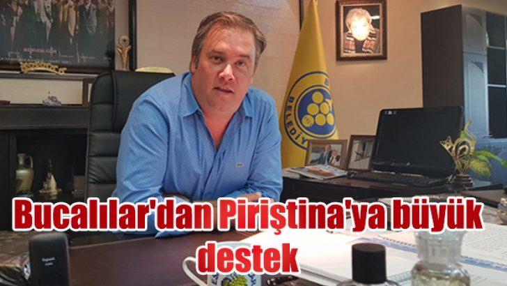 Bucalılar'dan Başkan Piriştina'ya büyük destek