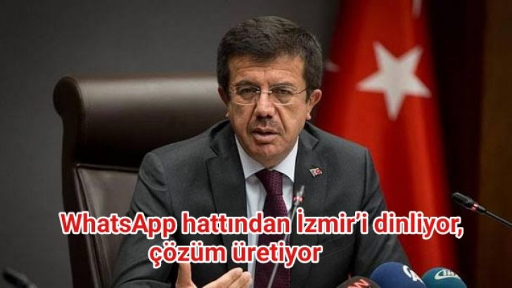WahatsApp hattı ve sosyal medyadan İzmir'i dinliyor, çözüm üretiyor