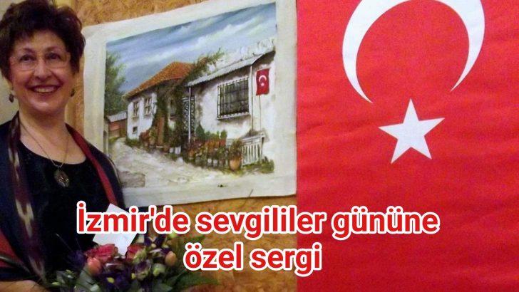 İzmir'de sevgililer gününe özel sergi