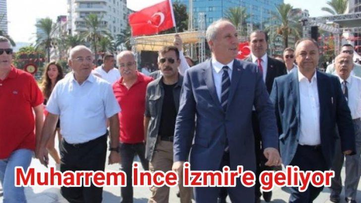 İzmir'e geliyor