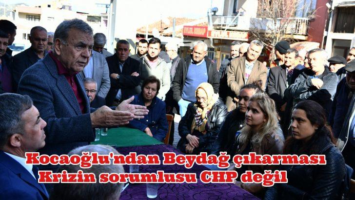 Krizin sorumlusu CHP değil