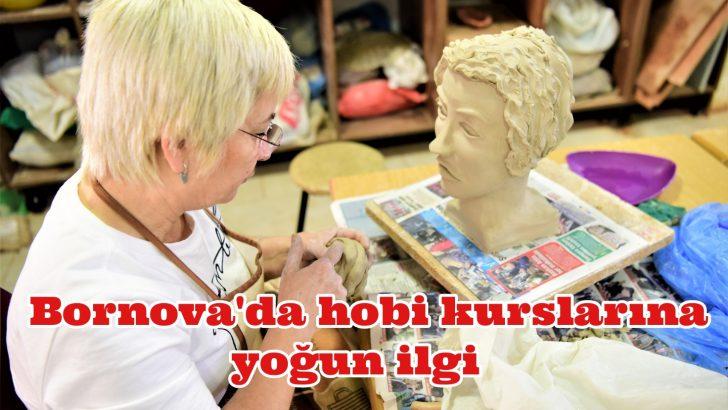 Bornova'da hobi kurslarına yoğun ilgi