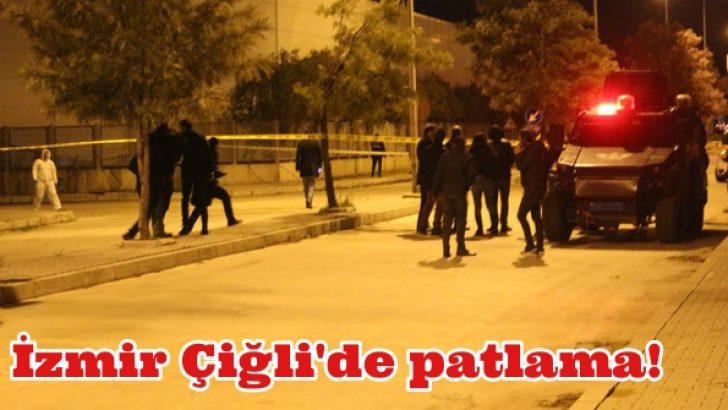 İzmir Çiğli'de patlama!