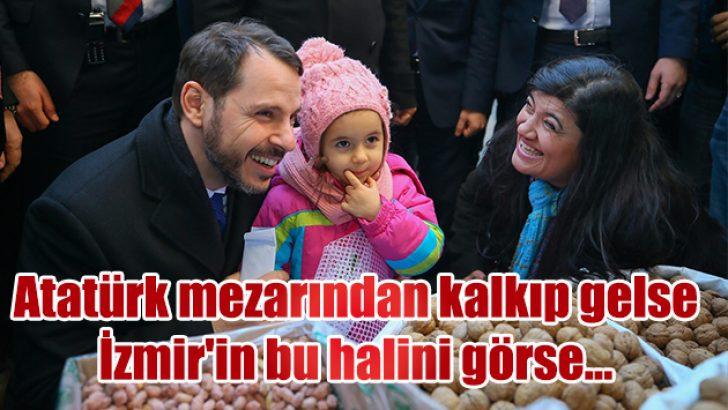 Atatürk mezarından kalkıp gelse İzmir'in bu halini görse…