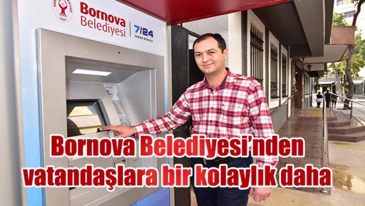 Bornova Belediyesi'nden vatandaşlara bir kolaylık daha