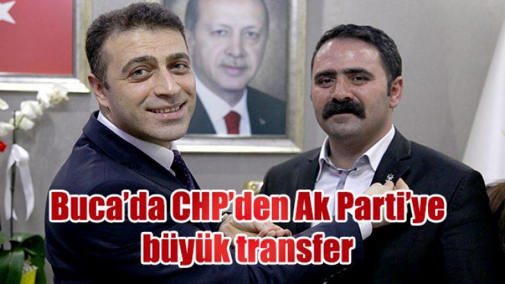 Buca'da CHP'den Ak Parti'ye büyük transfer