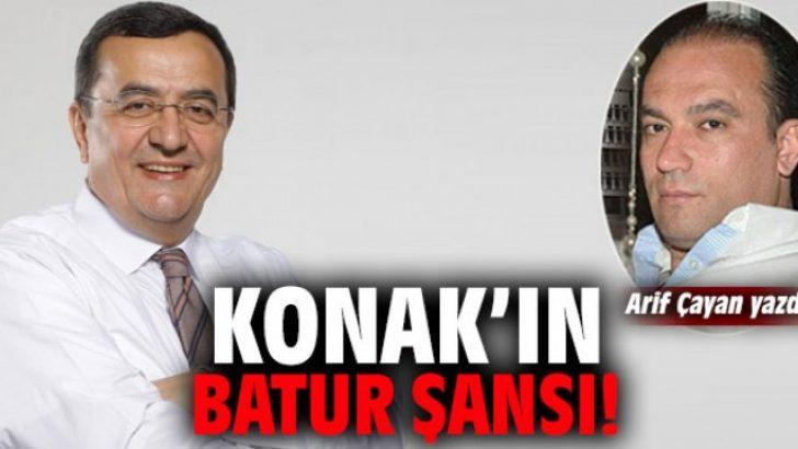 Konak'ın Batur şansı!